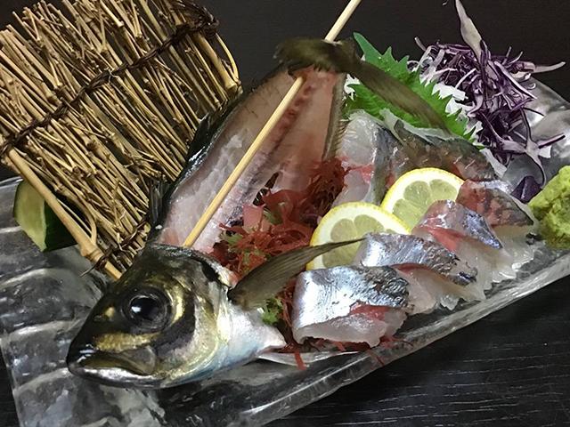 寿司と地産地消 明倫館