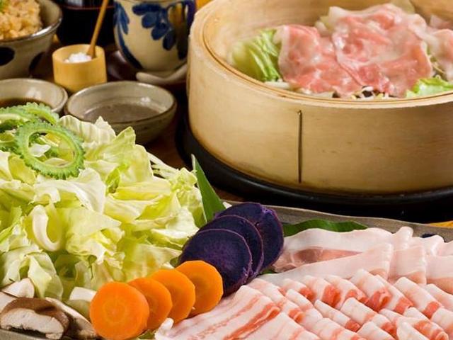Agu-no-Steam蒸和冲绳料理Shimabutaya