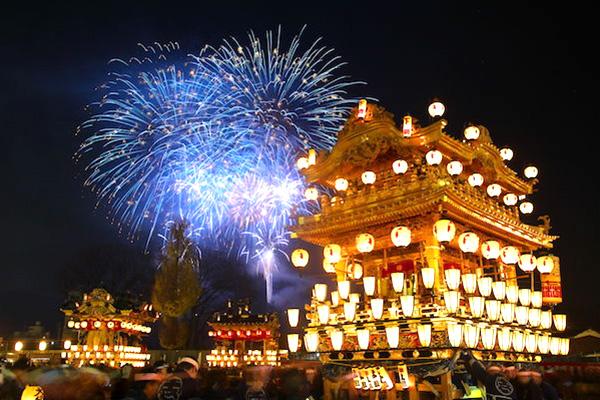 日本三大曳山祭「秩父夜祭」