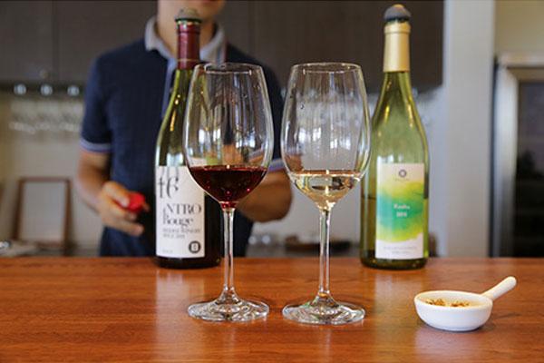 「ワインの醸造所見学ツアー
