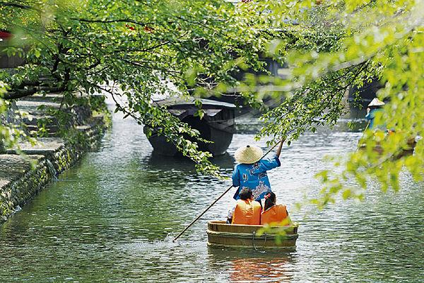 水の都おおがき たらい舟