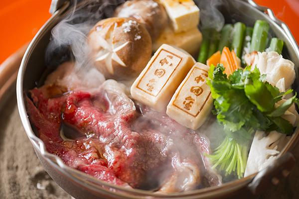 松阪牛のすき焼き