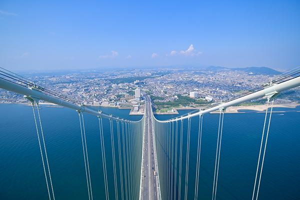 明石海峡大橋「ブリッジワールド」体験
