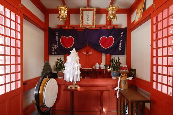 「恋命」をまつる恋木神社