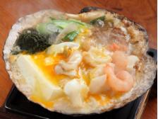 ホタテの貝焼き味噌