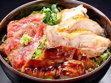 近江三大肉ステーキ丼