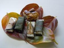 和歌山県の柿の葉寿司