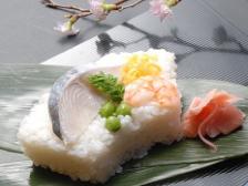 さわら押し抜き寿司