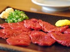 熊本県の馬刺し