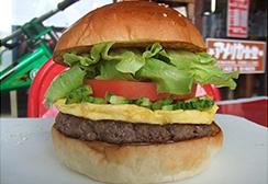 アメリカンなハンバーガー